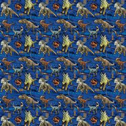 JURASSIC WORLD Fallen Kingdom ROLL OF GIFT WRAP ~ Birthday S