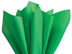 Kelly Green Holiday Green Tissue Paper 15 Inch x 20 Inch - 1