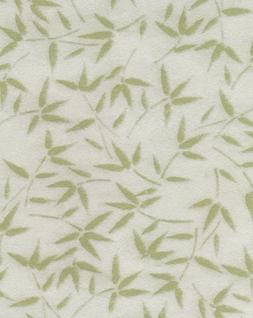 Aitoh Komagami Paper, 21.5 X 31.5 inches, Green with Bamboo