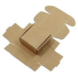 Kraft Paper Packing Box Brown Small Gift Craft Wrapping Box