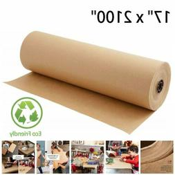 """Kraft Paper Roll 17 X 2100"""" Brown Craft Paper Table Cover Pa"""