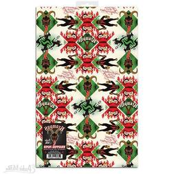 KRAMPUS GIFT WRAP 2 Sheets 20'' x 30'' Wrapping Paper Christ