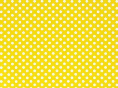"1 Unit Swiss Dots Yellow 30""x417'Stone Wrap Gift Wrap Counte"