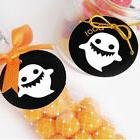 100pcs Halloween Paper Gift Wrap Tags Label ghost Decor DIY