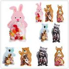 10Pcs Cute Animals Theme Baking Wrapping Bags Decor Candy Co