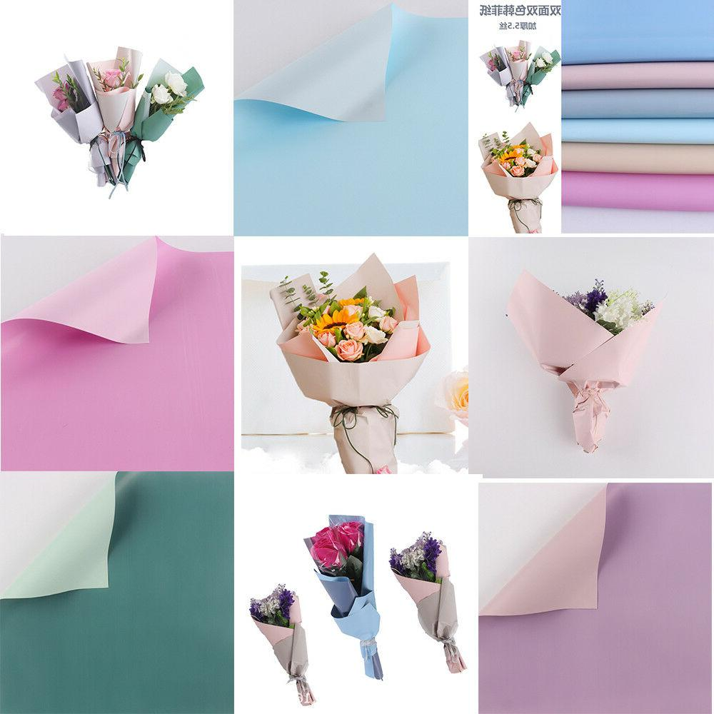 10pcs24''x24''DIY Wrapping Paper Flower Bouquet Craft Paper