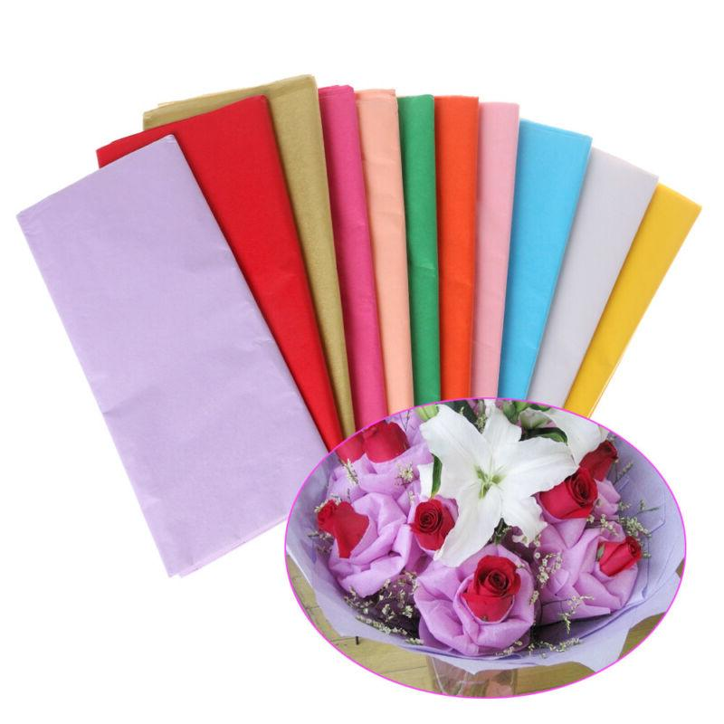 Gift Craft Wrapping Packing Tissue Paper Flower Making Origa