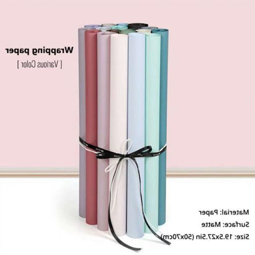 19.5x27.5in Various Matte Christmas Gift Wrapping