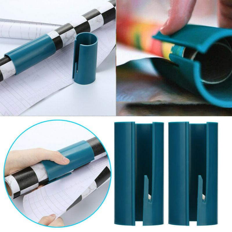 2 pcs sliding wrapping paper cutter makes