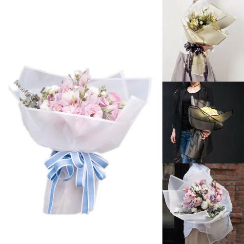 20pcs Flower Wrapping Paper Frosted Florist Art Wedding