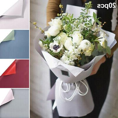 20pcs pack double color wedding decor flower