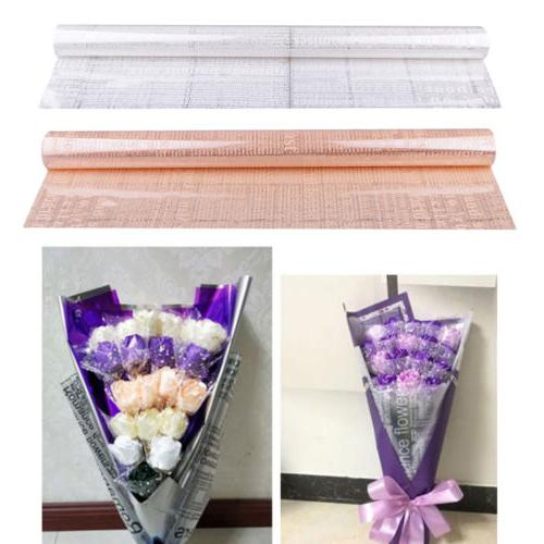 20x clear cellophane roll flower packaging paper
