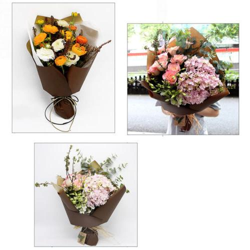 22.75x22.75in Color Back Gift Flower Wrapping