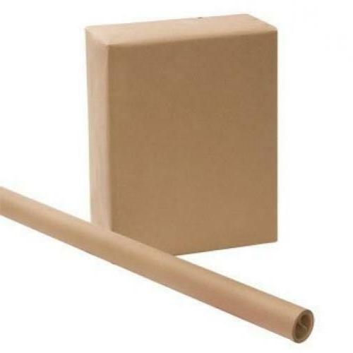 3 rolls kraft wrapping paper