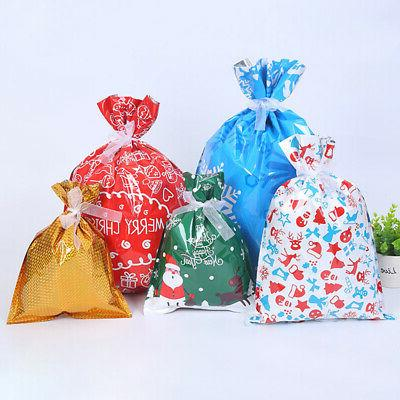 30pcs/kit Bags Ribbons Kit Candy Favors Loot