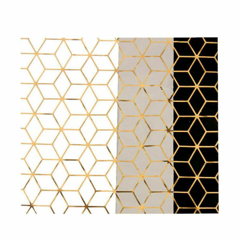 3pcs wrapping paper geometric gift papercraft wrapping