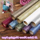 4.5M Flower Bouquet Wrapping Paper Craft Xmas Gifts Packagin