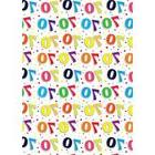 70th Birthday Gift Wrapping Paper - Sheets 2 Good Quality Th