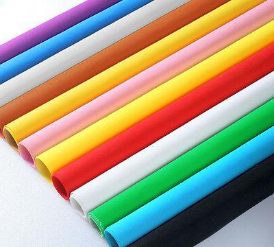 9 different color holiday wrapping paper roll