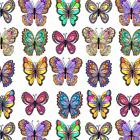 Butterfly Tissue Paper # 299 / Gift Wrap - 10 Lg. sheets --