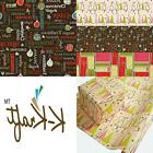 K Kraft Vintage Prints Christmas Mid Century Modern Wrapping
