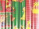 New/Old Stock 6 Rolls of Sesame Street 30in X 5ft Wrapping P
