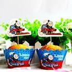 Set 24pcs Thomas The Train Kids Birthday Party 12 Wrap +12 C