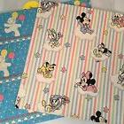 VTG Cleo Disney Wrapping paper Hallmark baby shower wrap she