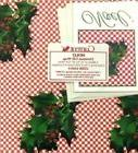 Vintage Christmas Wrapping Paper 1983 Holly Current Gift Wra