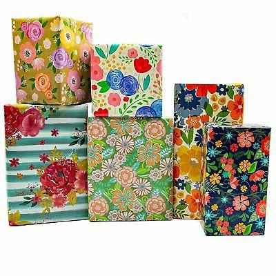 B-THERE Floral Gift Wrap Wrapping Occasions, Women, Birthday...
