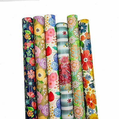 b there floral gift wrap wrapping paper