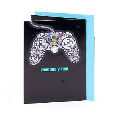 birthday card video games