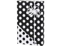 Black and White Polka Dot Reversible Wrapping Paper Wrap Rol