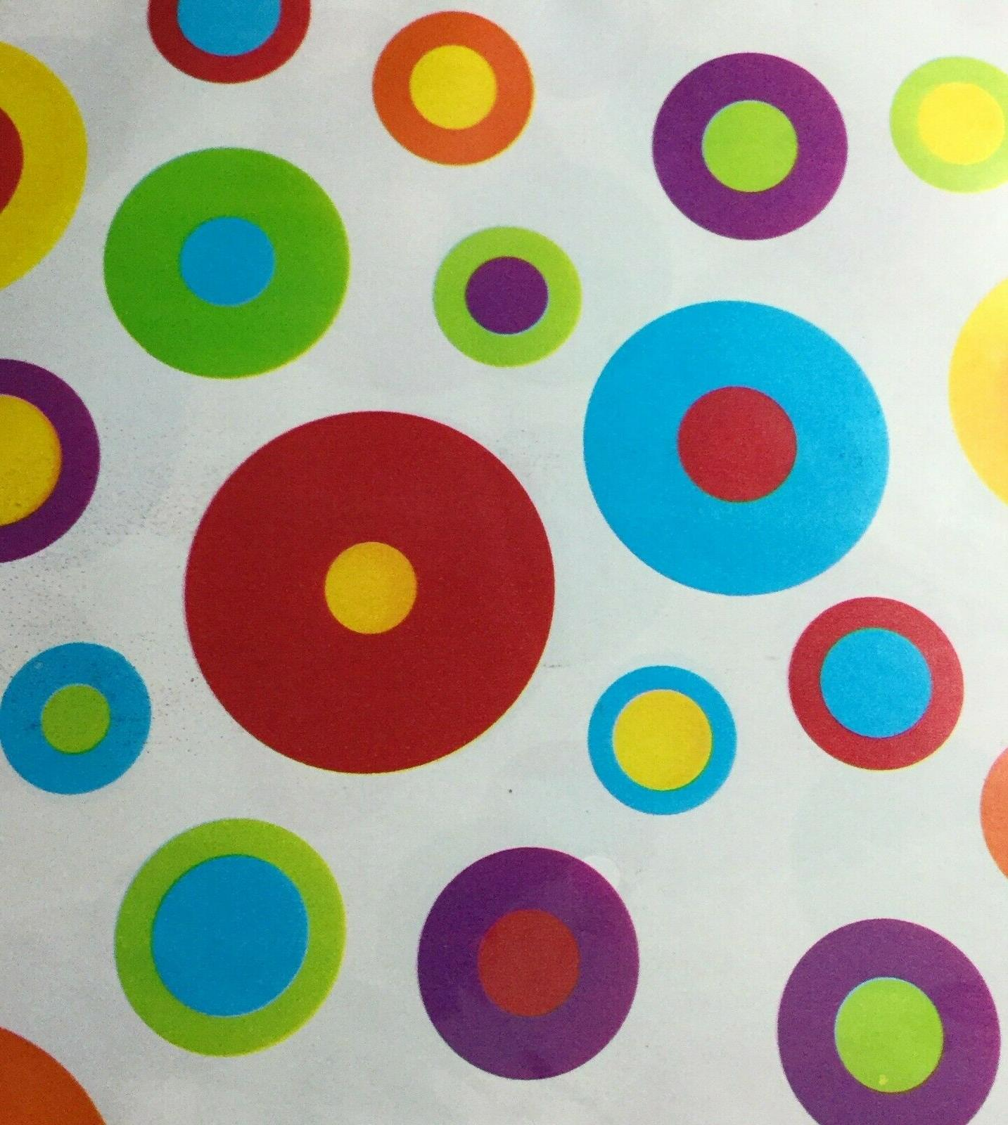 American Greetings Bright Polka Gift Wrap Wrapping