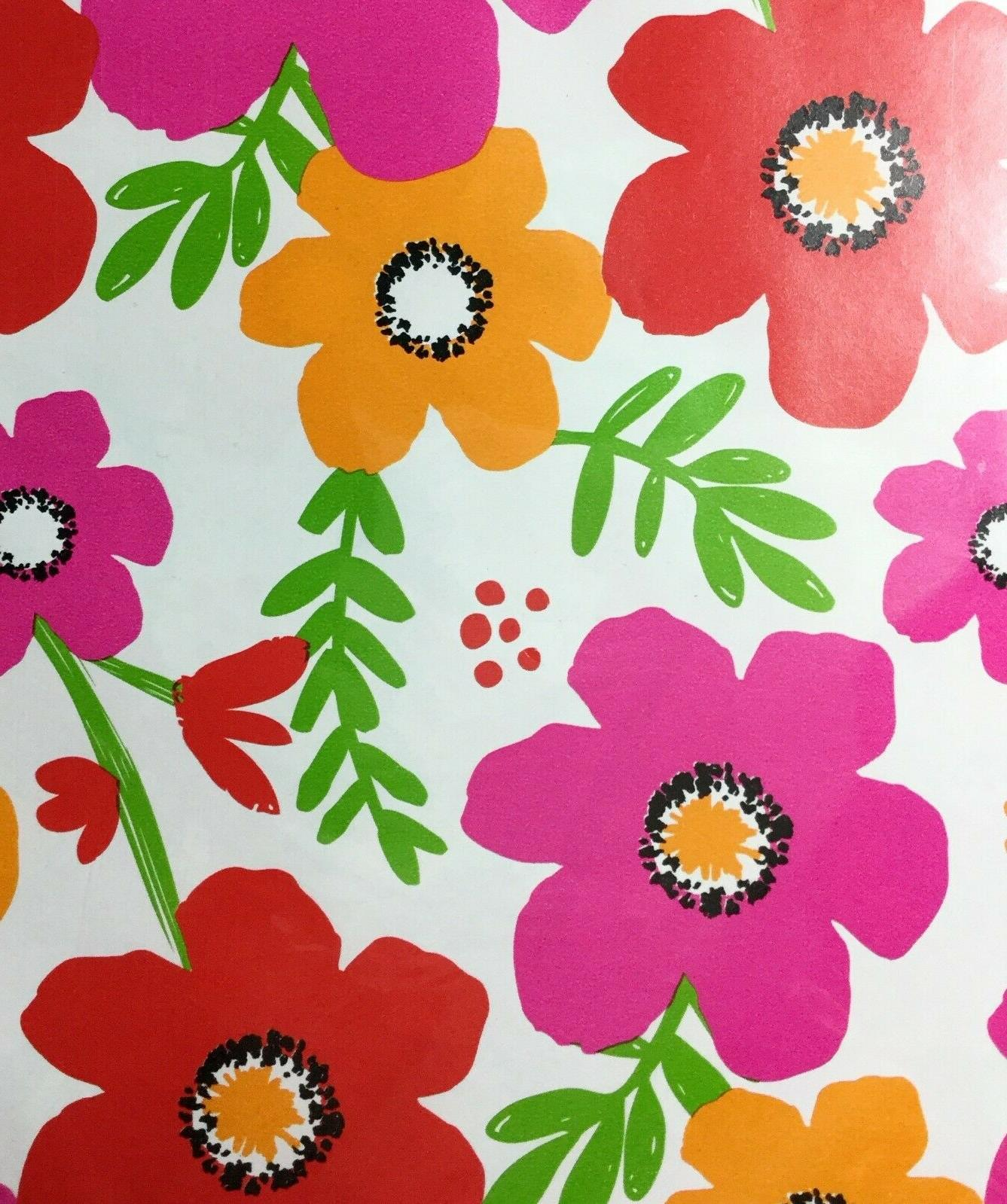 American Flowers Wrapping Paper