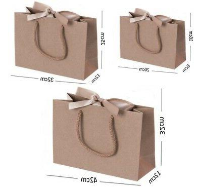 Brown Gift Bags - Shop Events Tissue Wrap