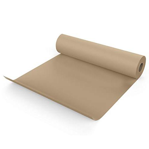 Brown Roll - 18In x 100Ft Shipping, Parcel, Table Made in