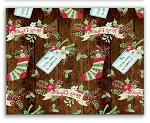 Bundle Rolls Gift Wrapping Paper - Holiday 240 Sq