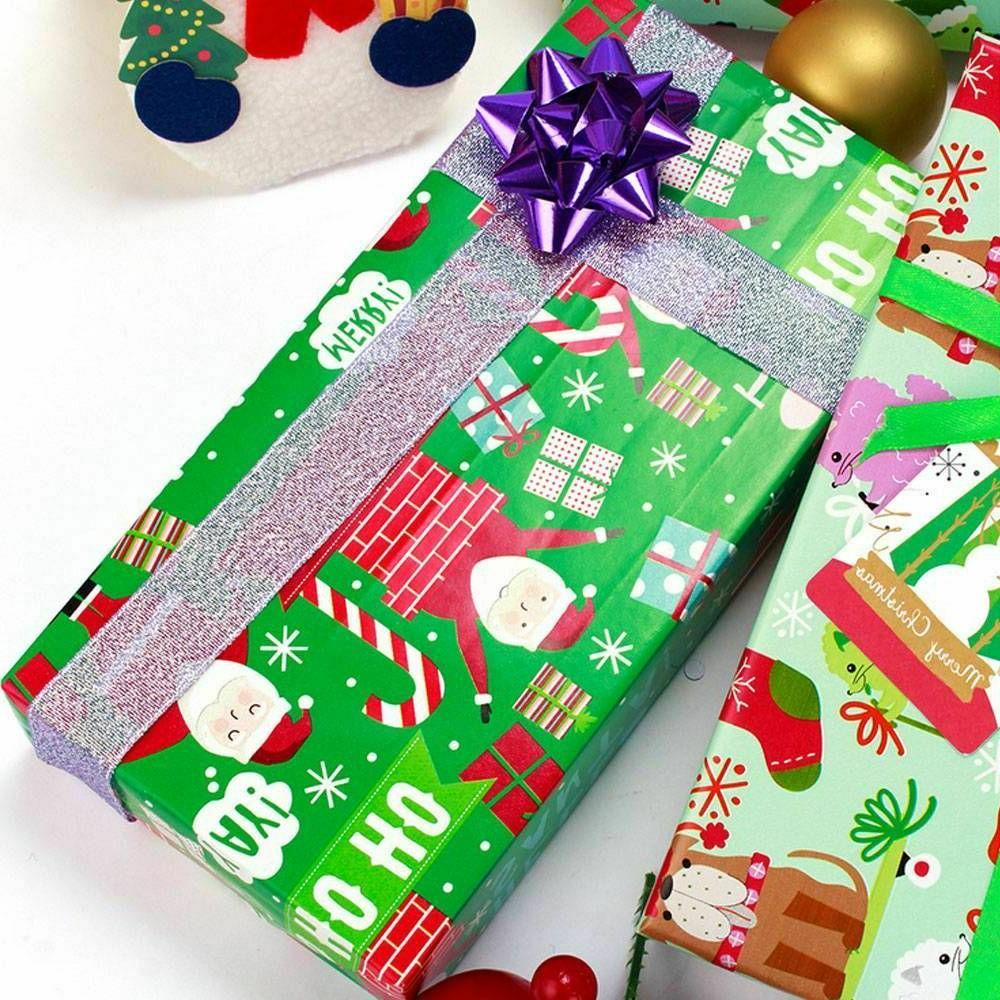 Christmas Wrapping Paper Tree Wrap Decorative