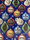 Star Wars Christmas Ornaments Gift Wrapping Paper 70 sq ft r