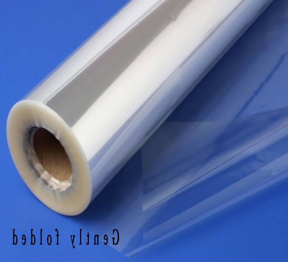 clear sea through cellophane wrapping gift paper