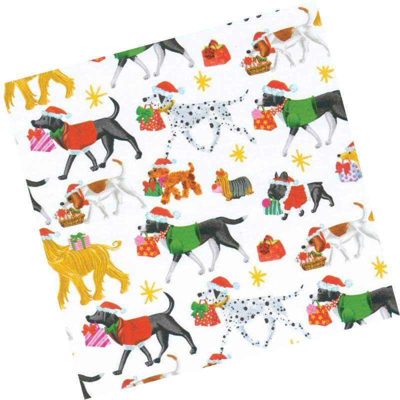 continuous roll of gift wrapping paper christmas