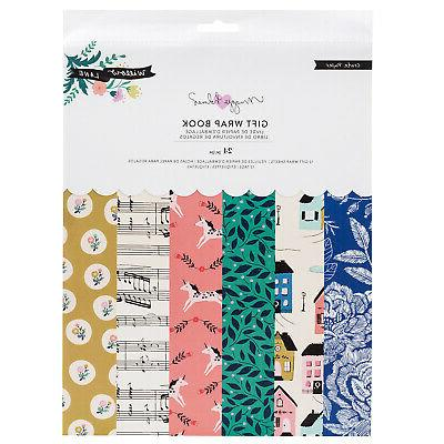 crate paper willow lane gift wrap paper