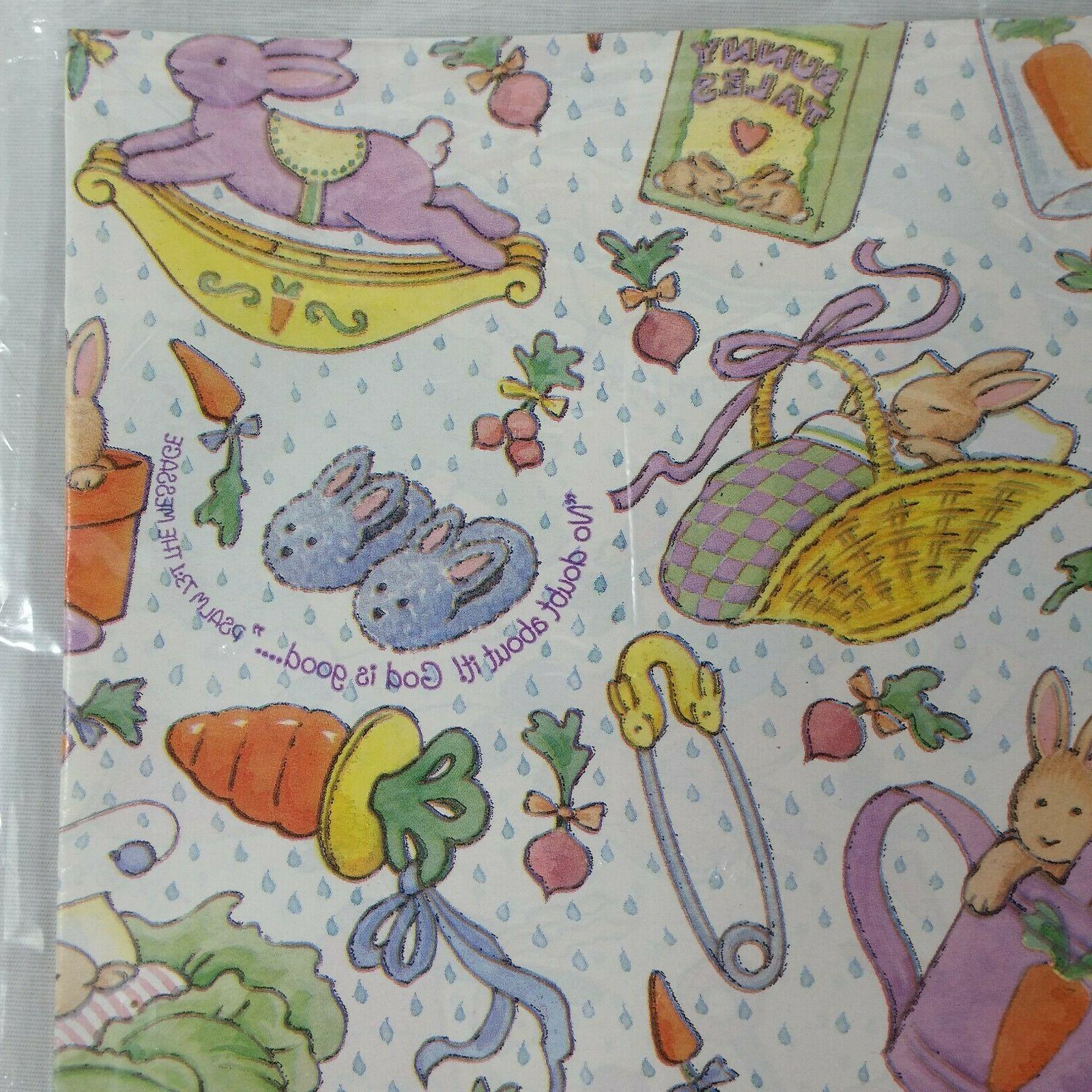 DaySpring Baby Wrap Wrapping Paper Spring