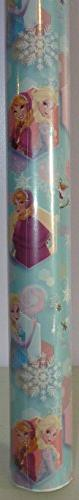 Disney Frozen ~ Elsa, Anna, & Olaf ~ Gift Wrapping Paper 40