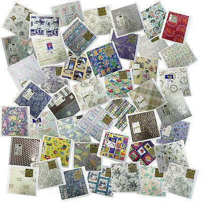 flat wrapping paper choice of patterns wedding