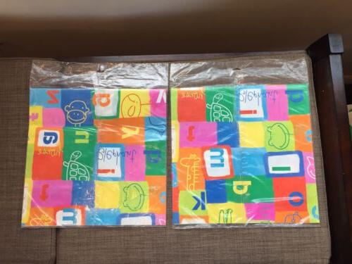 Hallmark Gift Animal Paper Lot 2, 4 Sheets Total New Package