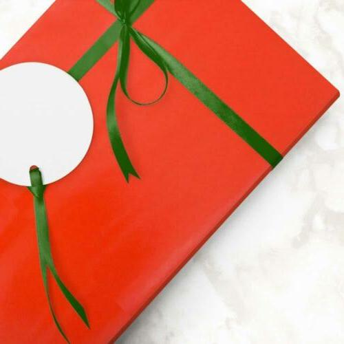 JAM Gift - Wrapping Paper - 40 Jumbo Red