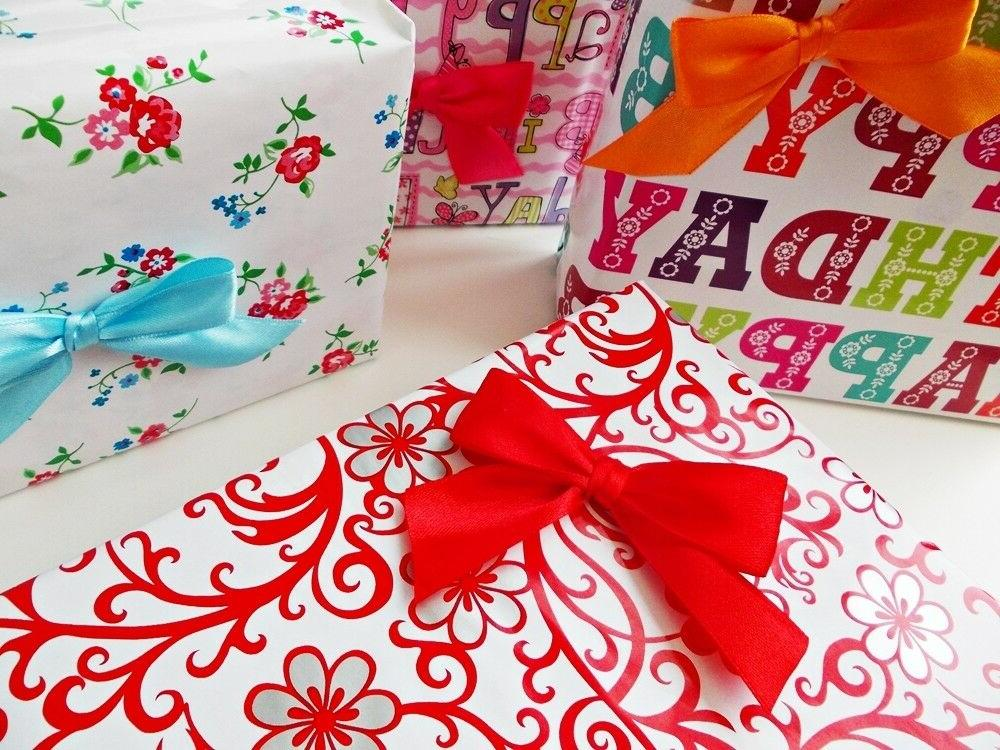 Gift Packaging Wrapping Paper 4 10m Party strong Luxury