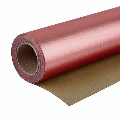 gift wrapping paper roll wood grain basics